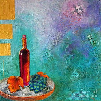 Bottle With a Checkered Past by Pat Stacy