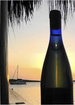 Bottled Up Sunset by Ryan Louis Maccione