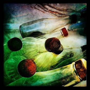 Bottles in Sink by Felice Willat
