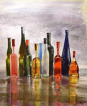 Bottles oh Bottles by Maria Varga-Hansen