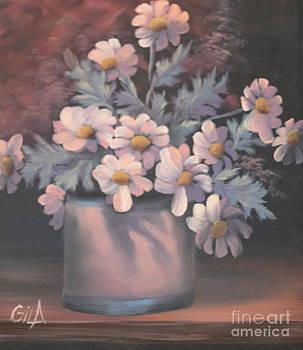 Bouquet of Flowers 2 by Gila Churba