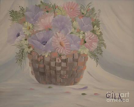 Bouquet of Flowers 3 by Gila Churba