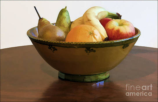 Bowl of Fruit by George Hodlin