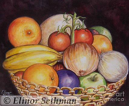 Bowl Of Plenty by Elinor Sethman
