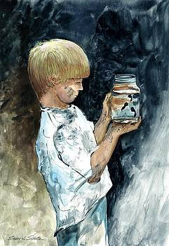 Boy At Play by Steven W Schultz