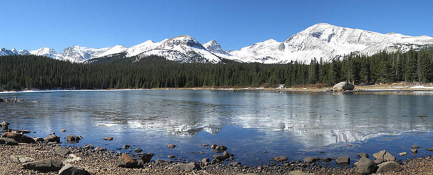 Brainard Lake Reflectons by Bill Kennedy