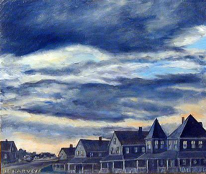 Brant Rock Cottages by Robert Harvey