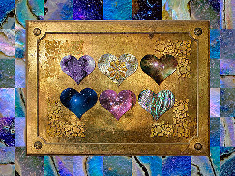 Brass Hearts Harmony by Susan Ragsdale