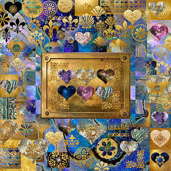 Brass Hearts in Heart-Making by Susan Ragsdale