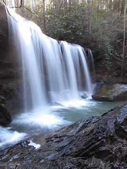 Brasstown Falls by Ginger Wemett