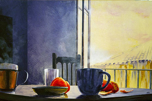 Breakfast in Granada by Carol McLagan