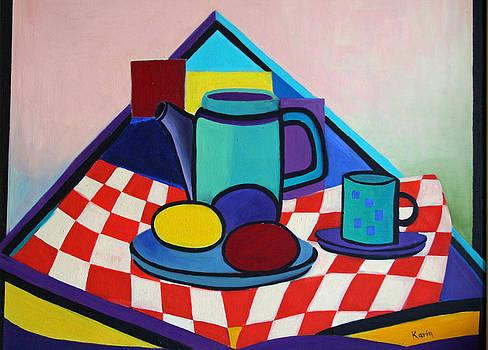 Breakfast with Eggs by Karin Eisermann