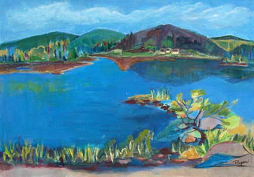 Betty Pieper - Breakwater on the Great Sacandaga