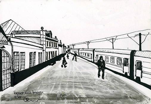 Brest Terminal by Lelia Sorokina