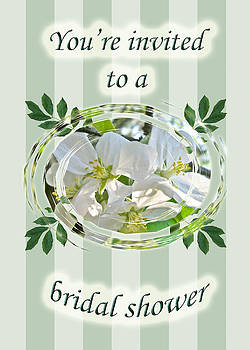 Mother Nature - Bridal Shower Invitation - Apple Blossoms