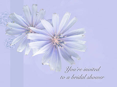Mother Nature - Bridal Shower Invitation - Chicory Wildflower