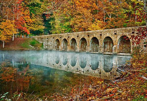 Bridge At Cumberland by Charles Fletcher