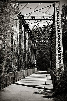 Bridge Black and White by Laurianna Murray