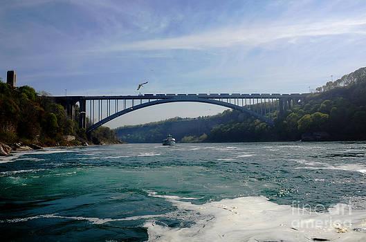 Pravine Chester - Bridge on the River Niagara