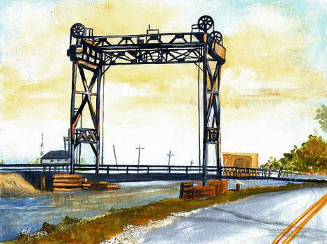 Bridge over the Bayou by Elaine Hodges