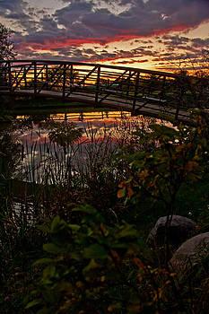 Bridge Over the Sunset by Ann Sharpe