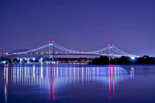 Tri-Borough Bridge in NYC by Theodore Jones