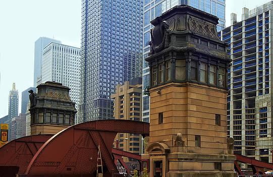 Bridges of Chicago by Slava Shamanoff