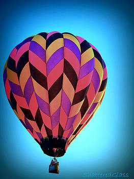 Bright Hot Air Balloon  by ShatteredGlass Photography