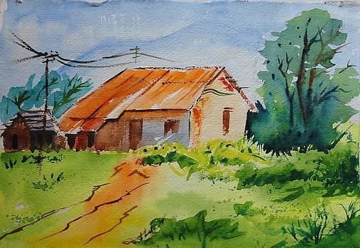 Bright sunny morning by Vijayendra Bapte