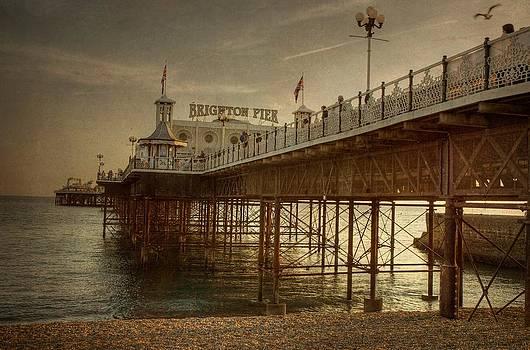 Brighton Pier by Tim Kahane