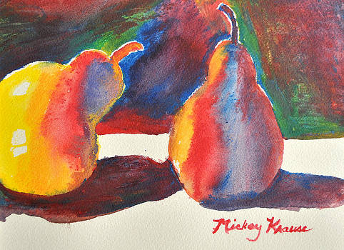 Brilliant Pears by Mickey Krause