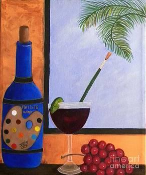 Brindo por el Arte by Iris  Mora