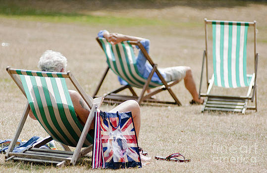 British Deck chairs by Andrew  Michael