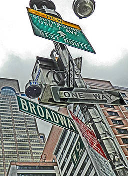 Broadway and 52nd Street by Mamie Thornbrue