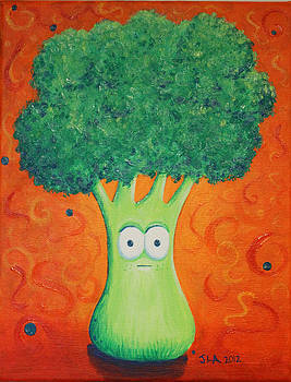 Brocolli by Jennifer Alvarez