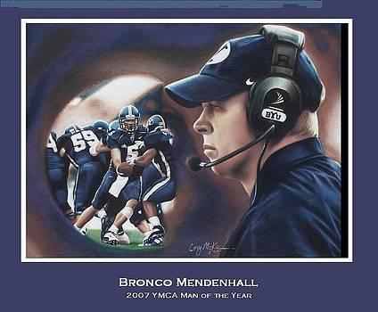 Bronco Mendenhall by Cory McKee