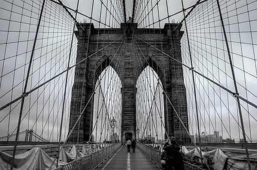 Brooklyn Bridge III by Frank Garciarubio