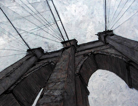 Brooklyn Bridge by Romina Diaz-Brarda