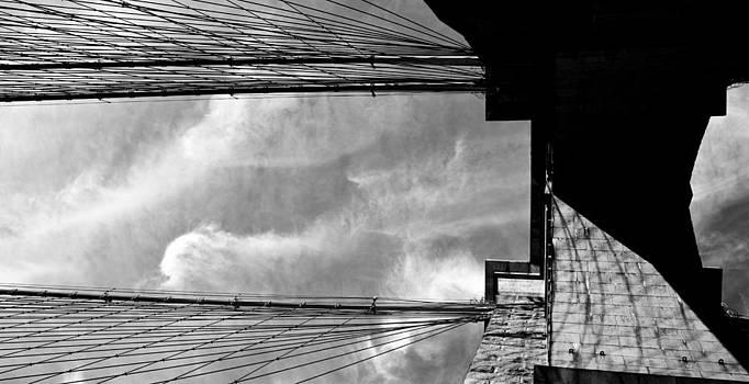 Brooklyn Bridge Supports by Patrick  Flynn