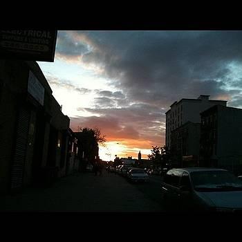 Brooklyn Sunset by Fern Fiddlehead