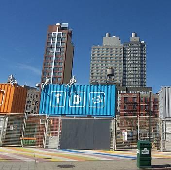 Brooklyn Water towers by Otis L Stanley