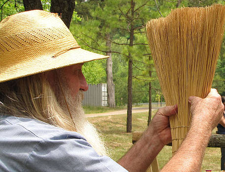 Broom Maker by Kent Dunning