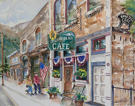 Brown Bear Cafe by Amy Caltry