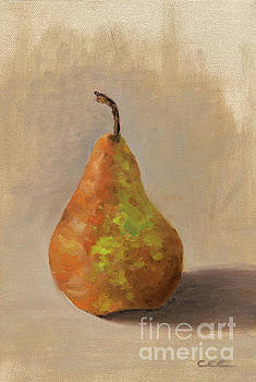 Brown Pear by Christa Eppinghaus