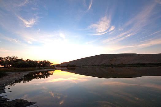 Bruneau Sunset by Rick Otto