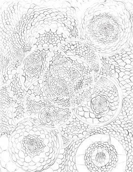 Bubble Fractals by Kurtis Clark