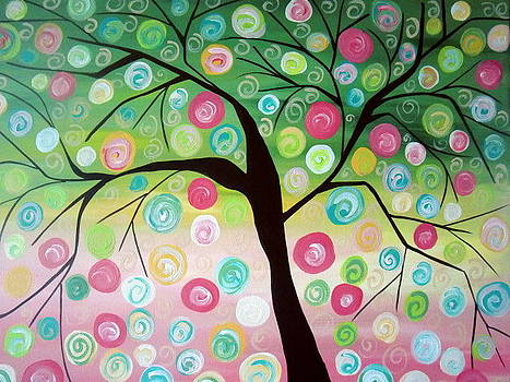 Bubble Gum Tree by Carla MacDiarmid