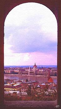 Steve Huang - Budapest Framed