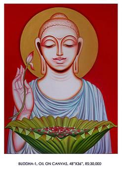 Buddha 1 by Pk Sahoo