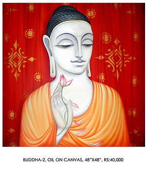 Buddha 2 by Pk Sahoo
